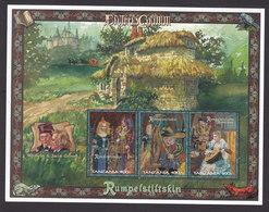 Tanzania, Scott #1598, Mint Hinged, Brothers Grimm, Issued 1997 - Tanzania (1964-...)