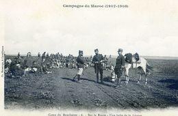 Maroc - Militaria - Campagne Du Maroc 1907-08 - Camp Du Boucheron - Sur La Route Halte De La Légion - Autres
