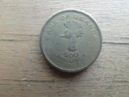 Ouganda  500  Shillings   2003  Km 69 - Uganda