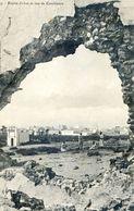 Maroc - Militaria - Campagne Du Maroc 1907-08 - Brèche D'obus Et Vue De Casablanca - Autres