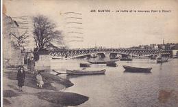 Cpa-44-nantes-animée-loire Et Nouveau Pont A Pirmil-edi Chapeau N°498 - Nantes