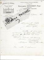 70 - Haute-saône - PORT-SUR-SAONE - Facture REUCHET - Serrurerie - Charpentes En Fer - 1915 - REF 86B - 1900 – 1949