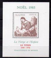 ZAIRE  Timbre Neuf ** De 1985  ( Ref 4919 )  NOEL- Art - Le Titien - Zaire