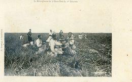 Maroc - Militaria - Campagne Du Maroc 1907-08 - La Mitrailleuse Du 3 Ième Bataillon Du 1 Ier Zouaves - Autres