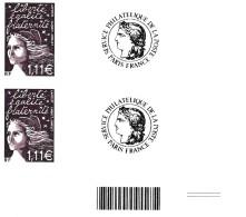 Timbres Personnalisés Marianne Du 14 Juillet 3729C - Personalisiert