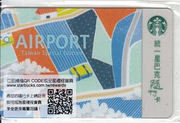 TAIWAN - Airport, Starbucks Card, CN : 7201, Unused - Gift Cards