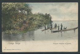 Belgisch Congo Postkaart Serie 14 Nr 4 - Unclassified