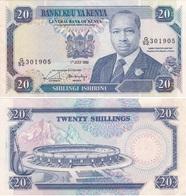 Kenya - 20 Shillings 1990 XF- Lemberg-Zp - Kenya