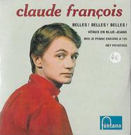 DISQUE 45 T POLYDOR DE 1962 REEDITE ANNEE 2000 EN CD COLLECTORS DE 4 TITRES DONT BELLES BELLES  BELLES CLAUDE FRANCOIS - Collector's Editions