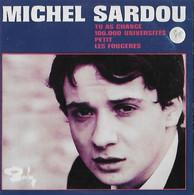 DISQUE 45 T POLYDOR DE 1967 REEDITE ANNEE 2000 EN CD COLLECTORS DE 4 TITRES DONT PETIT MICHEL SARDOU - Collectors