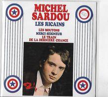 DISQUE 45 T POLYDOR DE 1967 REEDITE ANNEE 2000 EN CD COLLECTORS DE 4 TITRES DONT LES RICAINS MICHEL SARDOU - Collectors