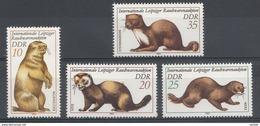Allemagne DDR 1982  Mi.nr.: 2677-2680 Tiere  Neuf Sans Charniere /MNH / Postfris - [6] République Démocratique