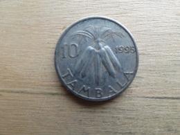 Malawi  10  Tambala  1995  Km 27 - Malawi