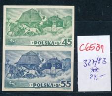 Polen Nr. 327/8  B **  (c6531 ) Siehe Scan - 1919-1939 Republic