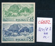 Polen Nr. 327/8  B **  (c6532 ) Siehe Scan - 1919-1939 Republic