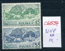 Polen Nr. 327/8  A **  (c6534 ) Siehe Scan - 1919-1939 Republic