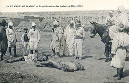 Militaria - La France Au Maroc - Identification De Cadavres Marocains - Postcards