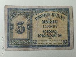 5 Francs 1944 - Marocco