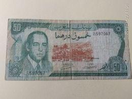 50 Dirhams 1970 - Marocco
