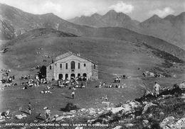 """07298 """"(TO) SANTUARIO DI COLLOMBARDO 1900-LAIETTO DI CONDOVE"""" ANIMATA, VERA FOTO, S.A.C.A.T. 1. CART NON SPED - Other Cities"""