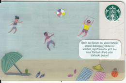 GERMANY - Beach, Starbucks Card, CN : 6136, Unused - Gift Cards
