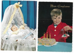 Bambini  - 2 Cartoline - Kinder