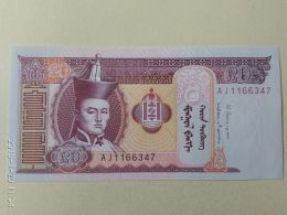 20  Tugriks 2009 - Mongolia