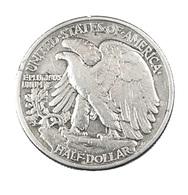1/2 Dollar - Etats Unis - Liberty - 1943 - Argent - TB - - 1916-1947: Liberty Walking (Liberté Marchant)