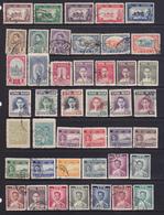Tailandia   1940-60 Lotto Di85 Fracobolli Tra I N*/n* Yv.229 E 329 Us. - Tailandia