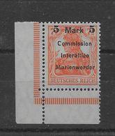 Sello De Marienwerder Nº Michel 25 ** - Coordination Sectors