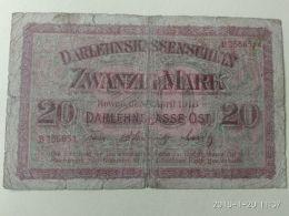 20 Mark 1918 Occupazione Tedesca - Lituanie