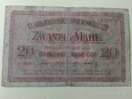 20 Mark 1918 Occupazione Tedesca - Lituania