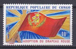 Congo - 1972 -PA N° 141  Adoption Du Drapeau Rouge N* MH - Congo - Brazzaville