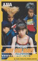 Télécarte Japon / 110-016 - FEMME  ** AXIA ** - JUDY & MARY - Musique  WOMAN GIRL Music Group - FRAU Telefonkarte - 3469 - Musik