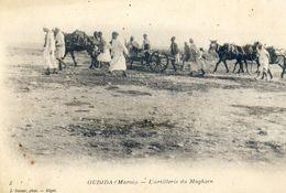 Militaria - Maroc - Oudjda - L'artillerie Du Maghzen - Autres