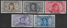 Italia Italy 1932 Regno Società Dante Alighieri 5val Sa N.303-305,308,310 US - 1900-44 Vittorio Emanuele III