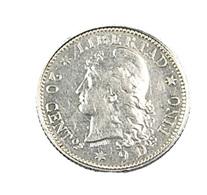 20 Centavos - Argentine - 1882 - Argent - TTB - - Argentina