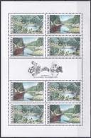 Slowakei Slovakia Slovensko 2003 Heimat Homeland Landschaften Landscape Seen Lakes Stauseen Reservoir, Mi. 463-4 ** - Unused Stamps