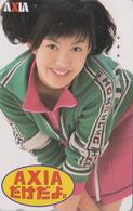 Télécarte Japon / 110-011 - FEMME -  ** AXIA ** -  WOMAN GIRL - FRAU Telefonkarte - 3471 - Personen