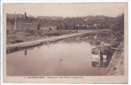 Saarbrücken   - Saar   -  Saarpartie Beim Neuen Landgericht   -  **87607** - Saarbruecken