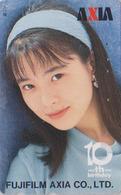 Télécarte Japon / 110-011 - FEMME - ** AXIA ** -  WOMAN GIRL - FRAU Telefonkarte - 3472 - Personen