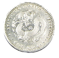 20 Cents - Chine - 1890/1908 - Kwangtung - Argent - TTB+ - - China