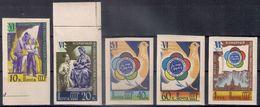 Russia 1957, Michel Nr 1945B-49B, MLH OG - Unused Stamps