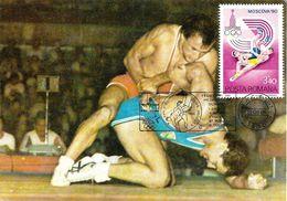 1984 - SPORT - FIGHTING - Maximumkarten (MC)