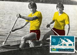 1984 - SPORT - CANOE - Maximumkarten (MC)