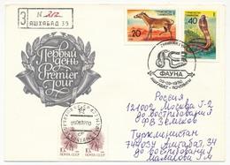 TURKMENISTAN - Enveloppe FDC - Faune - 1992 - Turkmenistan