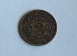 Suisse Switzerland 20 Rappen 1859 Rappens - Suiza