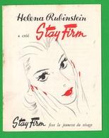 France Francia Libretto Profumi Creme Helena Rubistein  1952 Parfum Beautè Beauty - Health