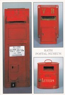 Postcard Bath Postal Museum Letter Boxes Royal Mail Interest My Ref B22166 - Museum