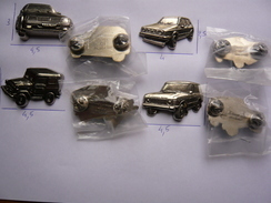 4 Big Pin S Automobile Relief Tous 300 Exemplaires 2 Attaches Metal Lourd Neuf - Volkswagen
